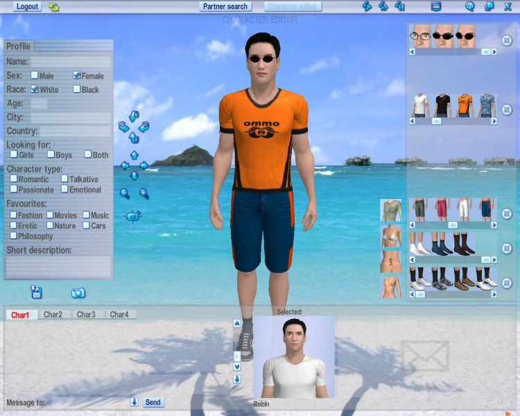 Screenshot 58 of Introducing our 3d Software for Girls Dating Software