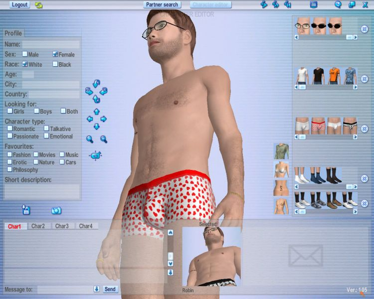 Screenshot 59 of Introducing our 3d Software for Girls Dating Software